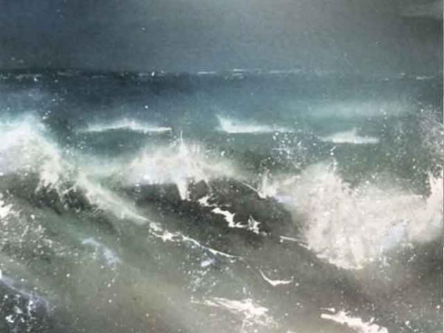 Dark Seas 105/90 cm