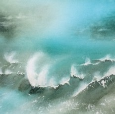 Beautiful Sea 105/90cm
