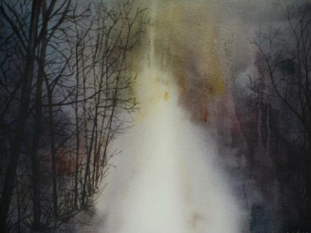 Winter Path  1 - 41/43cm