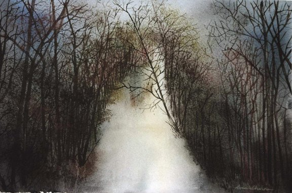 Winter Path  2. 41:43 cm