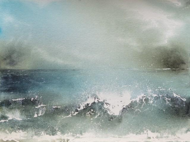 Dark Seas 70/54 cm