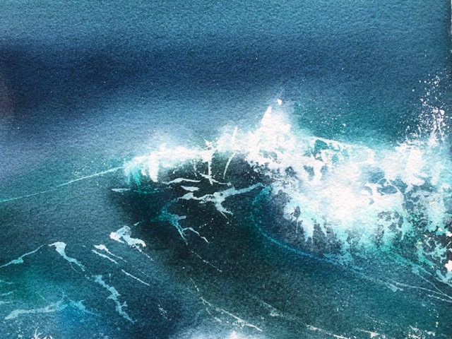 Night Wave 48/48cm