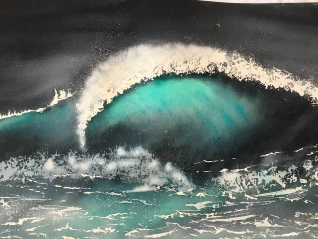 The Wave II. 80/56cm