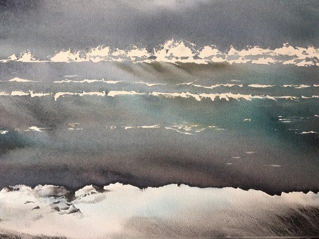 Arctic Shore. 78/58cm